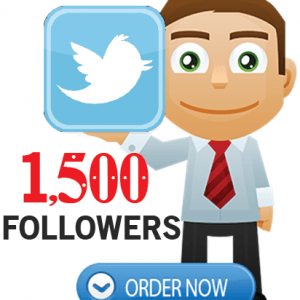 Buy 1500 Twitter Followers