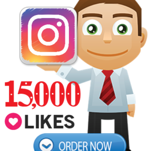 Buy 15,000 Instagram Likes