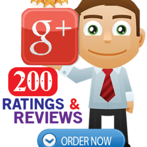 Buy 200 Google Plus Reviews