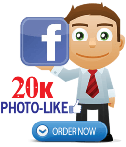 Buy 20,000 Facebook Photo Likes