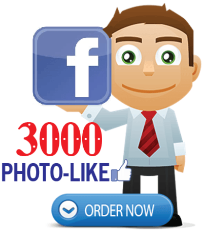 Buy 3000 facebook photo likes