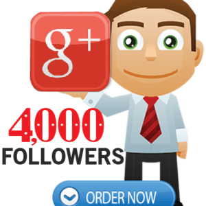Buy 4000 Google Plus Followers