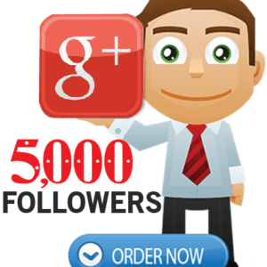 Buy 5000 Google Plus Followers