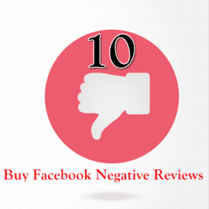 Buy 10 facebook negative reviews