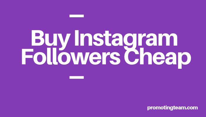 Buy Instagram Followers Cheap | ▷ 100% Real & Active